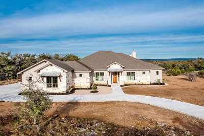 Burnet County Single Family Home Pending-Taking Backups: 310 Vista View