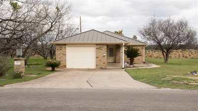Horseshoe Bay Single Family Home For Sale: 603 Sun Ray