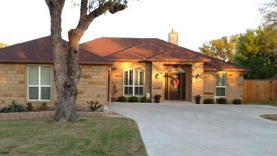 Burnet Single Family Home For Sale: 232 Sunday