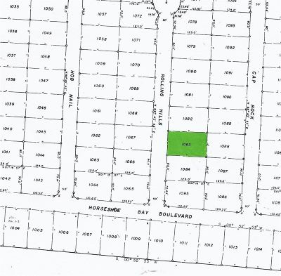 Horseshoe Bay P Residential Lots & Land For Sale: 1083 Rolling Hills