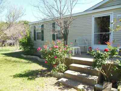 Burnet Single Family Home For Sale: Mobile Home Only