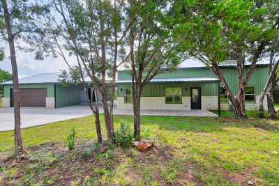 Marble Falls Single Family Home For Sale: 2603 Mormon Mill