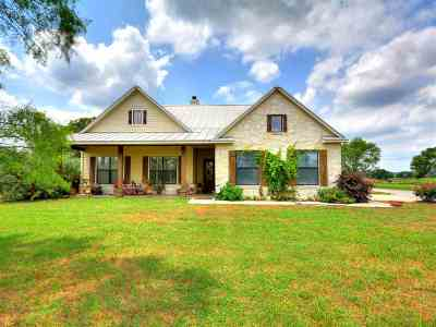 Marble Falls Single Family Home For Sale: 6876 Cr 120