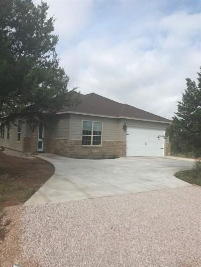 Granite Shoals Single Family Home Pending-Taking Backups: 125 W Castleberry