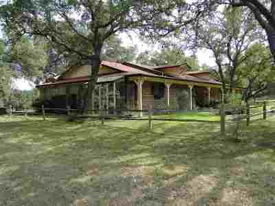marble falls Single Family Home For Sale: 240 W Cr 403