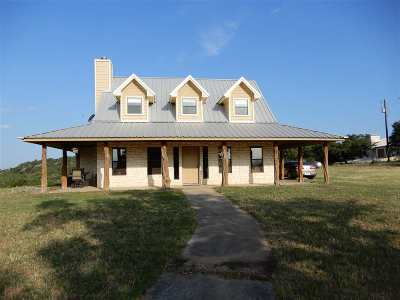 Marble Falls Single Family Home For Sale: 903 Tokim