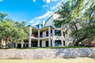 Spicewood Single Family Home For Sale: 20704 E Lakeshore