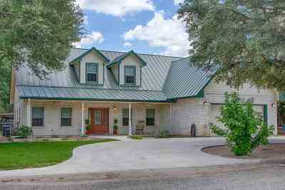 Marble Falls Single Family Home For Sale: 1805 Sunset