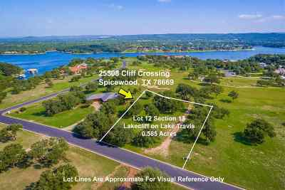 Spicewood Residential Lots & Land For Sale: 25508 Cliff