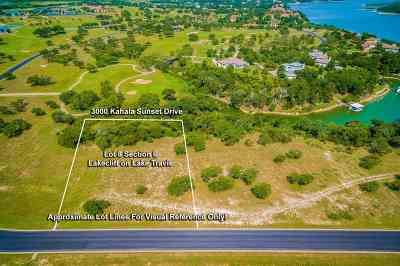 Spicewood Residential Lots & Land For Sale: 3000 Kahala Sunset