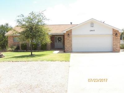 Horseshoe Bay Single Family Home For Sale: 2907 Blue Lake
