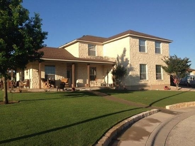 Burnet Single Family Home For Sale: 120 Linsey