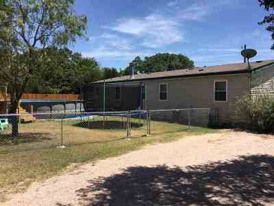 Burnet Single Family Home For Sale: 412 Sunset