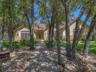 marble falls Single Family Home For Sale: 3306 Vista Lane