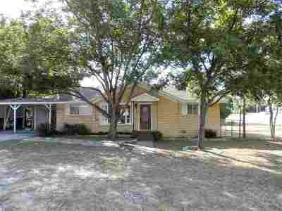 Marble Falls TX Single Family Home For Sale: $169,500
