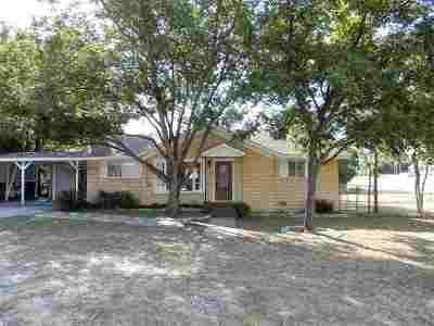 Marble Falls Single Family Home Pending-Taking Backups: 1001 Ave E