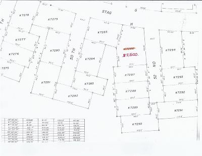 Horseshoe Bay Residential Lots & Land For Sale: K7286 52nd & Stag