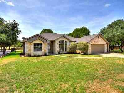 Burnet Single Family Home For Sale: 405 Fox Crossing