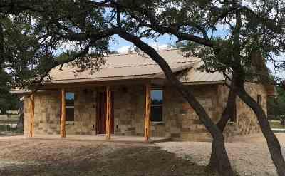 Burnet Single Family Home For Sale: 5185 Cr 340