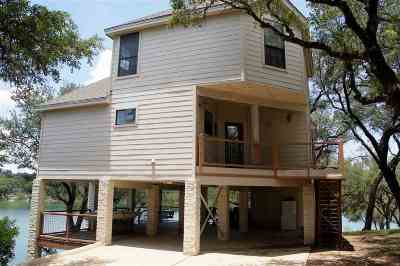 Spicewood Single Family Home For Sale: 1352 Lake Shore