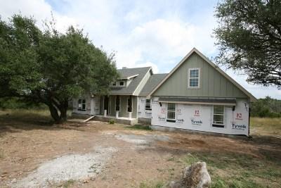 Marble Falls Single Family Home Pending-Taking Backups: 212 Stonehenge