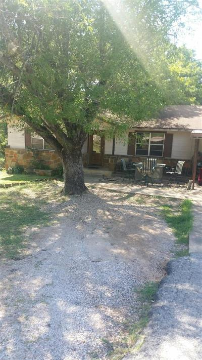 Marble Falls Single Family Home Pending-Taking Backups: 904 Avenue F