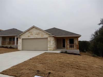 Marble Falls Single Family Home For Sale: 114 E Wildflower