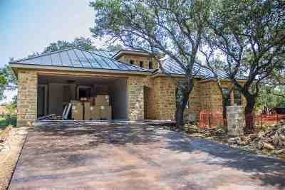 Horseshoe Bay W Single Family Home For Sale: 100 Cactus Corner