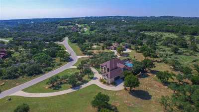 Marble Falls Single Family Home For Sale: 1001 Stone Mountain Dr