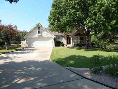 Marble Falls Single Family Home For Sale: 204 Gateway Circle