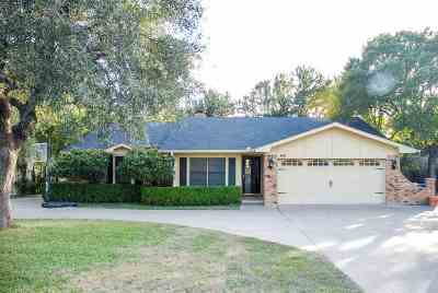 Marble Falls Single Family Home For Sale: 800 Sherman