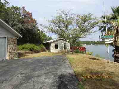 Buchanan Dam Single Family Home For Sale: 603 Waterway