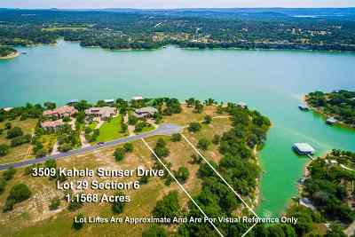 Spicewood Residential Lots & Land For Sale: 3509 Kahala Sunset