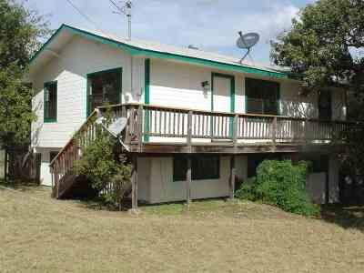 Granite Shoals Single Family Home For Sale: 423 Cedarhill
