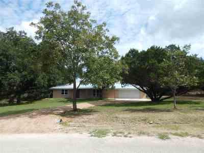 Lampasas Single Family Home Pending-Taking Backups: 150 County Road 1030