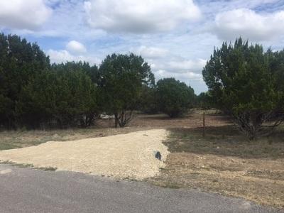 Lampasas Residential Lots & Land Pending-Taking Backups: Lot 6b Kathie Lane