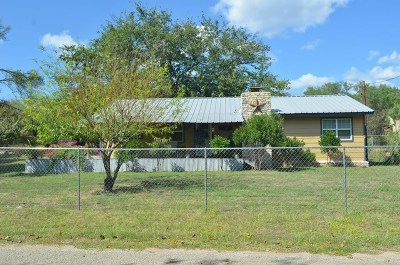 Burnet Single Family Home For Sale: 139 Harold Drive