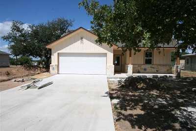 Kingsland Single Family Home For Sale: 3503 Concho