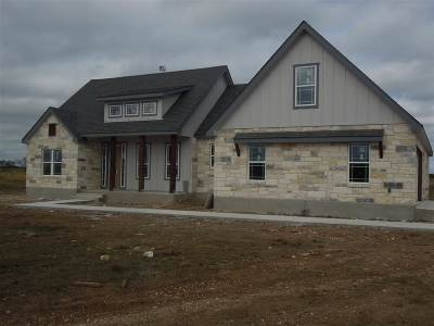 Burnet County Single Family Home For Sale: 7120 County Road 200