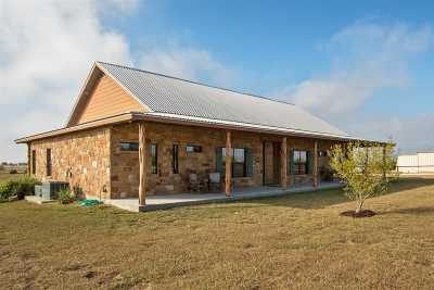 Burnet County Single Family Home For Sale: 3380 County Rd 211