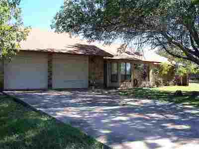 Marble Falls Single Family Home Pending-Taking Backups: 1823 Lacy Drive