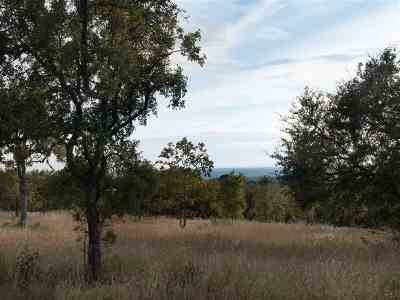 Marble Falls Residential Lots & Land For Sale: Lot 7 Falling Creek Cv