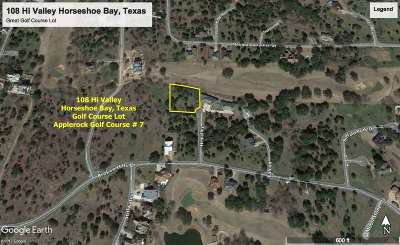 Horseshoe Bay W Residential Lots & Land For Sale: 108 Hi Valley
