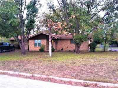 Burnet Single Family Home Pending-Taking Backups: 507 Shady Oak
