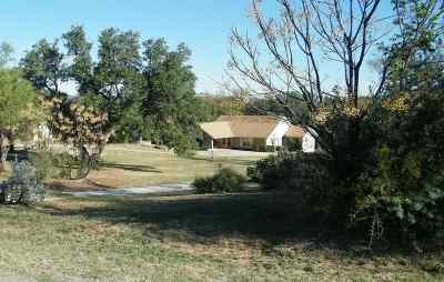 Burnet Single Family Home For Sale: 207 Shoals Pkwy.