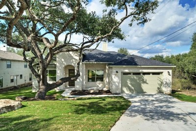 Spicewood Single Family Home Pending-Taking Backups: 130 Bedford