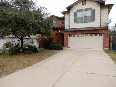 Marble Falls Single Family Home Pending-Taking Backups: 101 E Wildflower