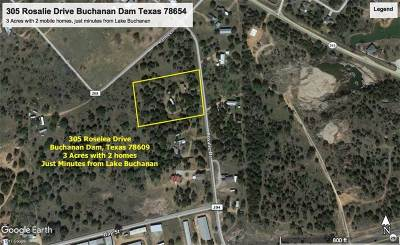 Buchanan Dam Single Family Home For Sale: 305 Roselea