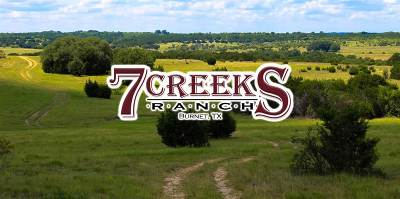 Burnet Farm & Ranch For Sale: Tract 85 7 Creeks Ranch