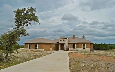 Burnet Single Family Home Temporarily Off Market: 101 Rain Lily Ct